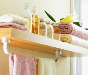 Lovely diy bathroom organisation shelves ideas 07