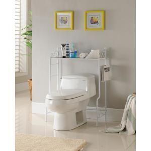 Lovely diy bathroom organisation shelves ideas 08