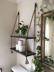 Lovely diy bathroom organisation shelves ideas 22