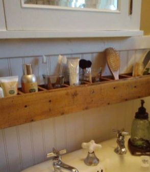 Lovely diy bathroom organisation shelves ideas 33