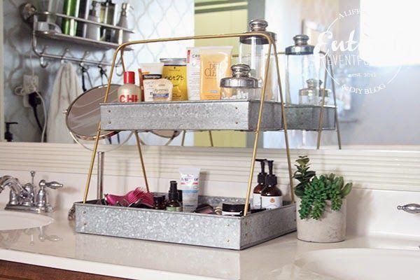 Lovely diy bathroom organisation shelves ideas 39