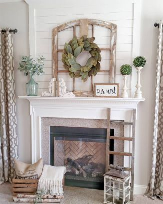 Magnificient farmhouse fall decor ideas on a budget 40