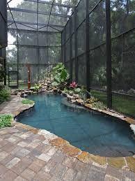 Minimalist small pool design with beautiful garden inside 12