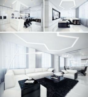 Modern white living room design ideas 02