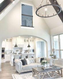 Modern white living room design ideas 12