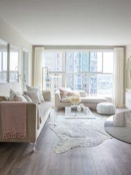 Modern white living room design ideas 26