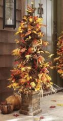 Perfect diy front porch christmas tree ideas on a budget 18