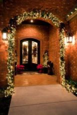 Perfect diy front porch christmas tree ideas on a budget 33