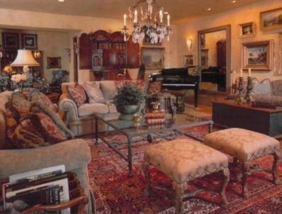 Romantic rustic farmhouse living room decor ideas 10