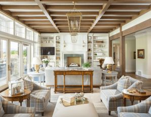 Romantic rustic farmhouse living room decor ideas 40