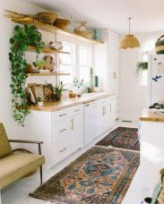 Simply apartment kitchen decorating ideas 10