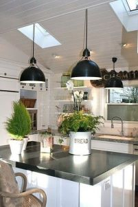 Simply apartment kitchen decorating ideas 19