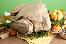 Stunning paper mache ideas for thanksgiving to decorate your home 22
