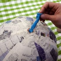 Stunning paper mache ideas for thanksgiving to decorate your home 23