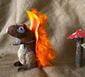 Stunning paper mache ideas for thanksgiving to decorate your home 35