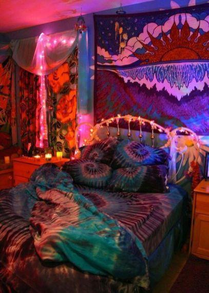 Stylish cool dorm rooms style decor ideas 03