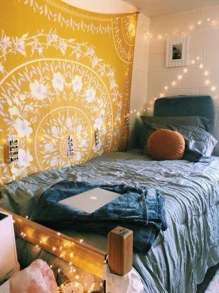 Stylish cool dorm rooms style decor ideas 07