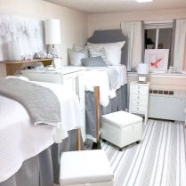 Stylish cool dorm rooms style decor ideas 18