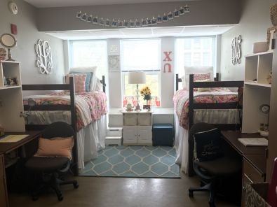 Stylish cool dorm rooms style decor ideas 22
