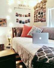 Stylish cool dorm rooms style decor ideas 23