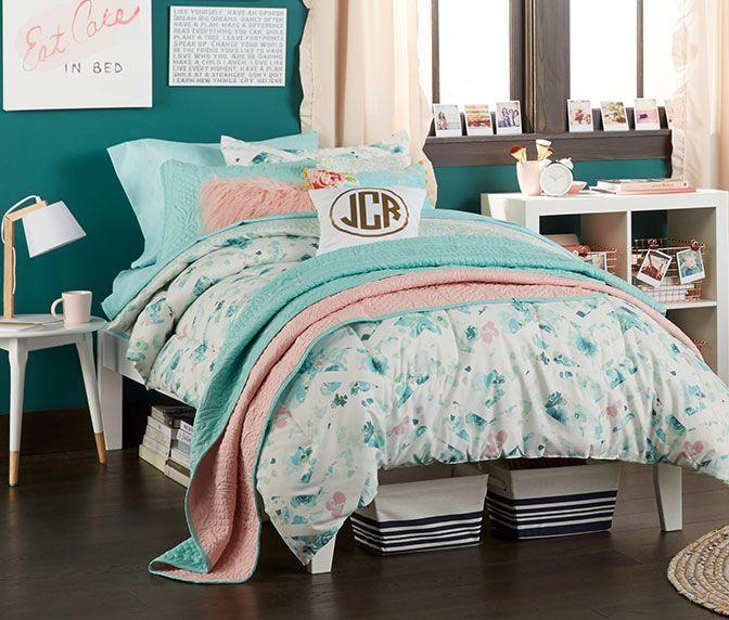 Stylish cool dorm rooms style decor ideas 34