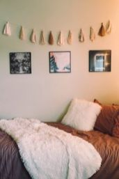 Stylish cool dorm rooms style decor ideas 35
