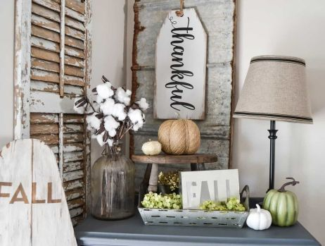 Unique diy farmhouse thanksgiving decorations ideas 02