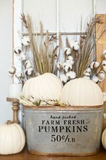 Unique diy farmhouse thanksgiving decorations ideas 07