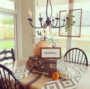 Unique diy farmhouse thanksgiving decorations ideas 16