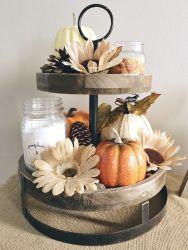 Unique diy farmhouse thanksgiving decorations ideas 17