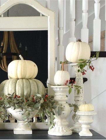 Unique diy farmhouse thanksgiving decorations ideas 27