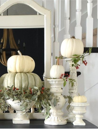 Unique diy farmhouse thanksgiving decorations ideas 27