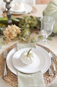 Unique diy farmhouse thanksgiving decorations ideas 29
