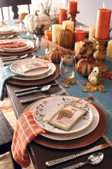 Unique diy farmhouse thanksgiving decorations ideas 43