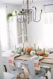 Unique diy farmhouse thanksgiving decorations ideas 46