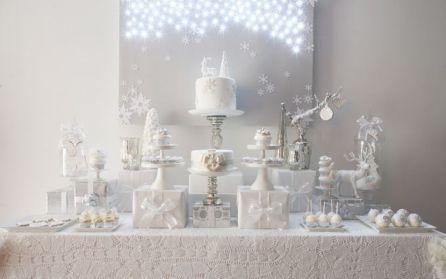 Wonderful winter wonderland decoration ideas 35
