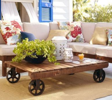 Adorable coffee table designs ideas 14