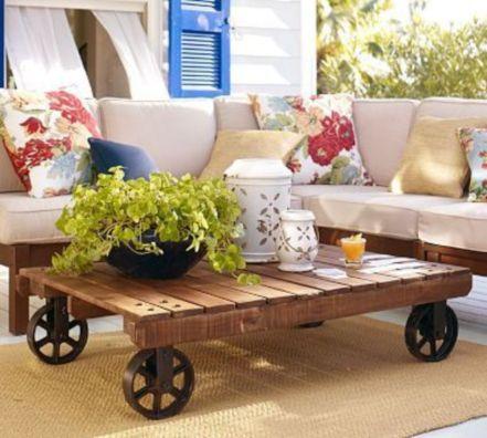 Adorable coffee table designs ideas 14