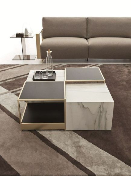 Adorable coffee table designs ideas 31