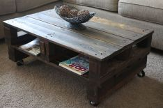Adorable coffee table designs ideas 34