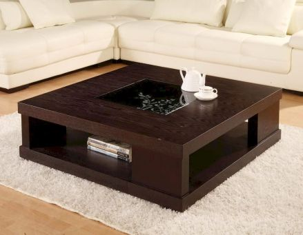 Adorable coffee table designs ideas 44