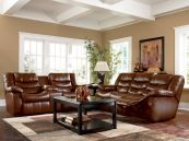 Amazing living room paint ideas by brown furniture 19