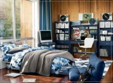Awesome wooden panel walls bedroom ideas 25