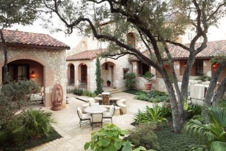 Beautiful mediterranean patio designs ideas 21