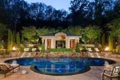 Beautiful mediterranean patio designs ideas 27