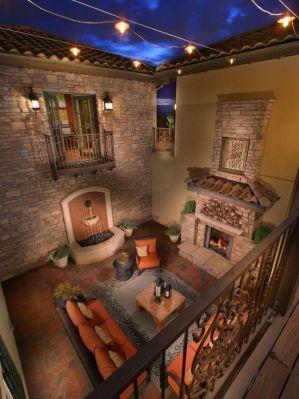 Beautiful mediterranean patio designs ideas 36