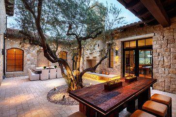 Beautiful mediterranean patio designs ideas 42