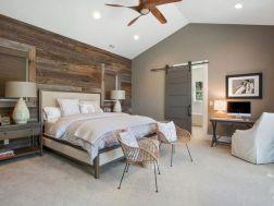 Casual vintage farmhouse bedroom ideas 05