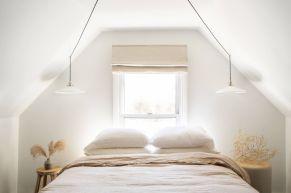 Casual vintage farmhouse bedroom ideas 12
