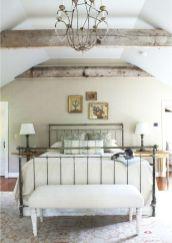 Casual vintage farmhouse bedroom ideas 26